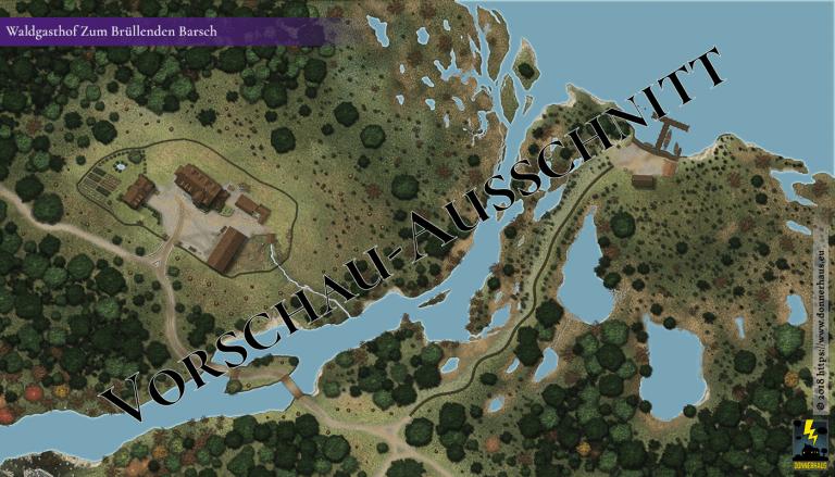 Previewbild der Karte des Gasthofs Zum Brüllenden Barsch