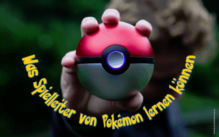 Was Spielleiter von Pokemon lernen können Coverimage
