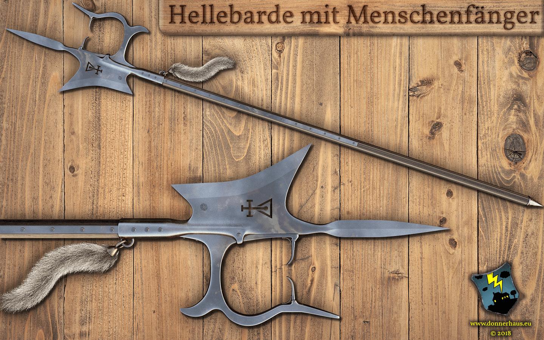 Die Menschenfänger-Hellebarde – Donnerhaus Waffenkunde Spezial