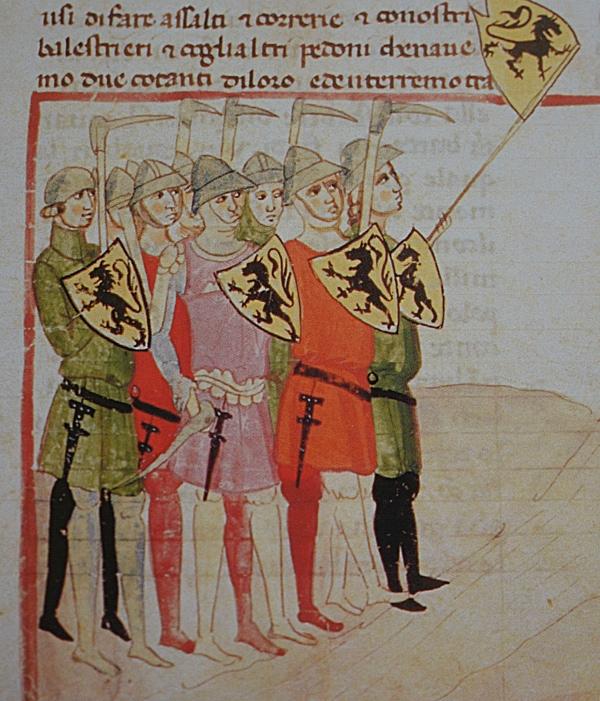 Das Söldnerwesen im Mittelalter: Städte führen Krieg – Geschichtskrümel 36