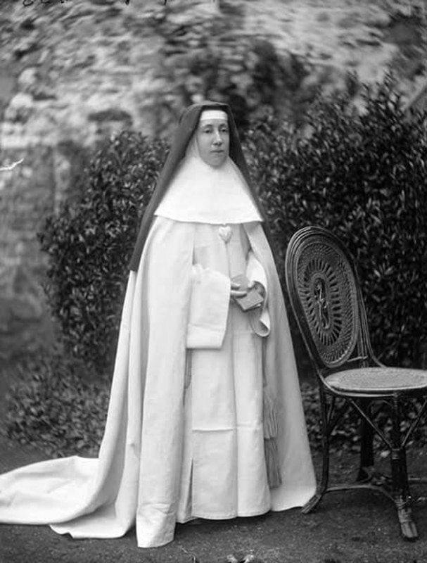 Eine irische Nonne