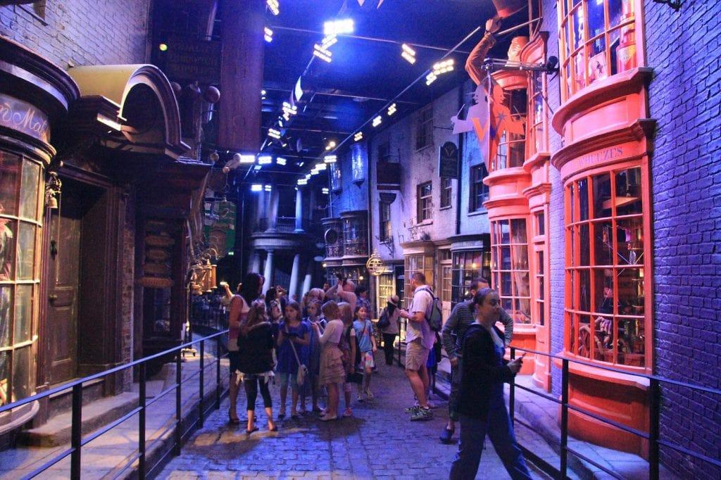 Bühnenbild der Harry Potter-Filme
