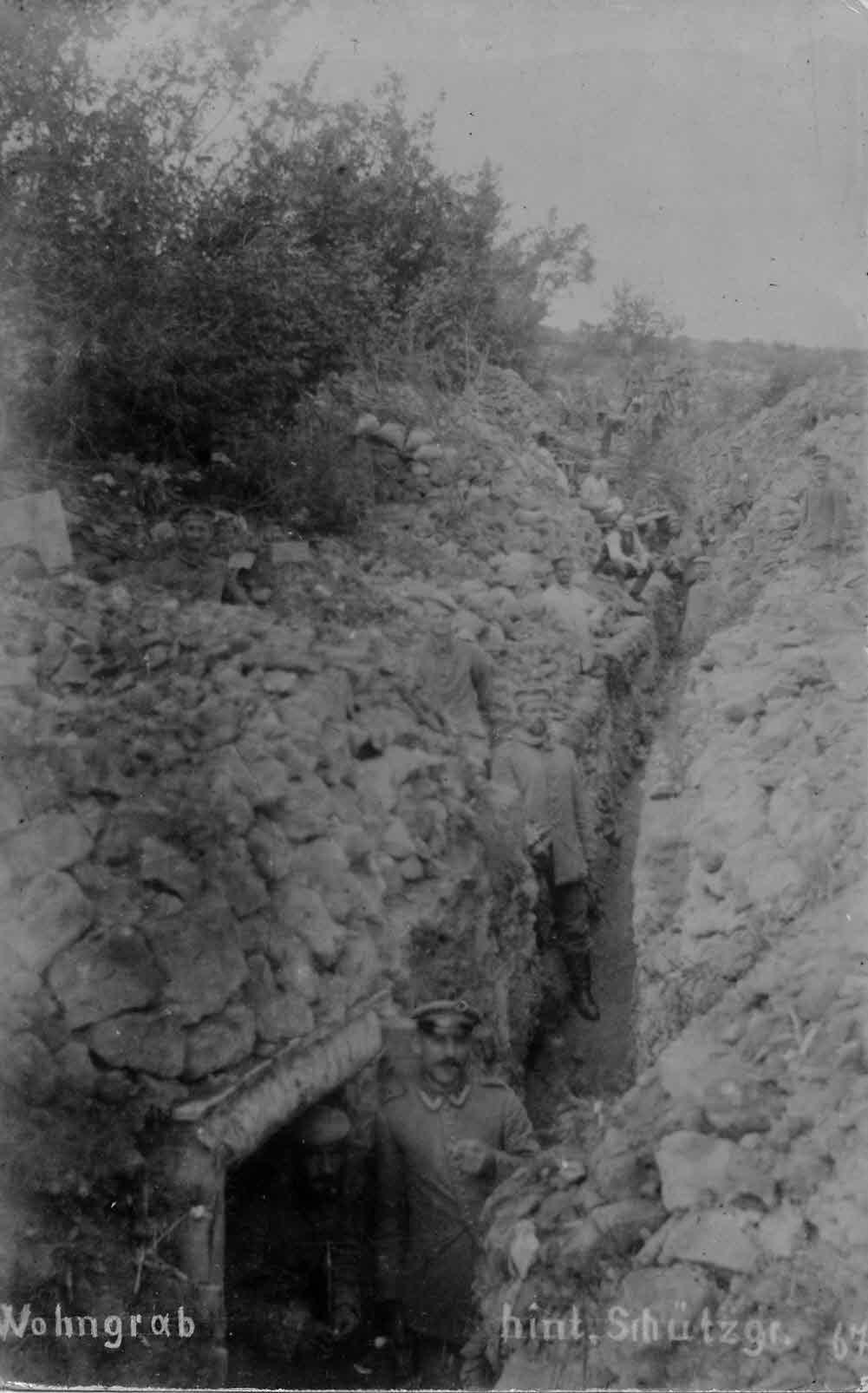 Wohngrab Erster Weltkrieg