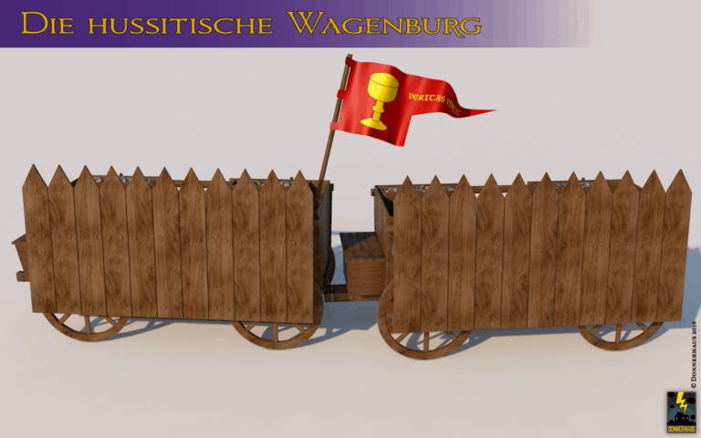 Titelbild: Ein hussitischer Kriegswagen