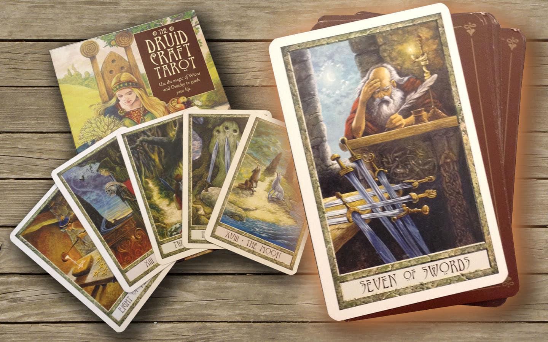 Das Druidcraft Tarot vom Ehepaar Carr-Gomm