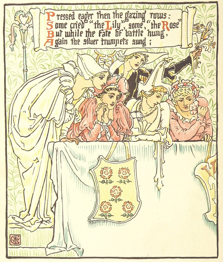 Queen Summer; or, the Tourney of the lily & the rose. Penned & p
