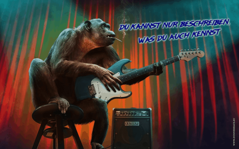 Affe mit Gitarre Coverimage
