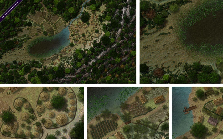 Das verborgene Dschungeldorf Kachelpreview Donnerhaus