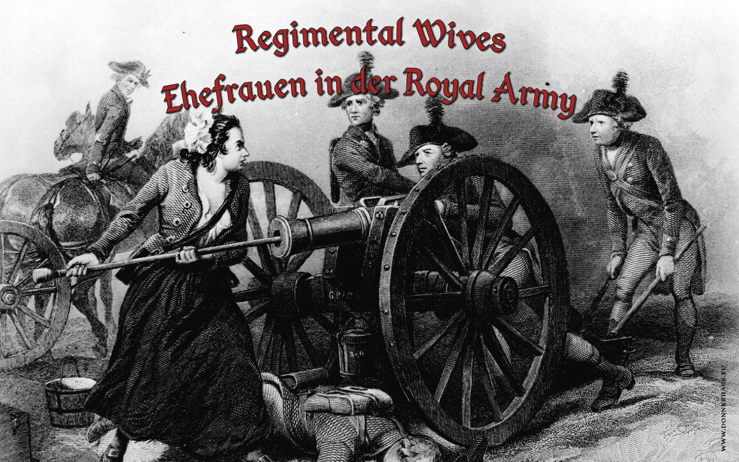 Regimental Wives Cover Molly Pitcher