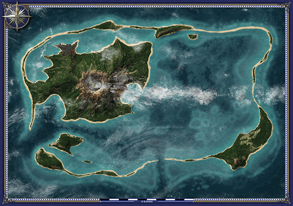 Das Yéana'lea-Atoll