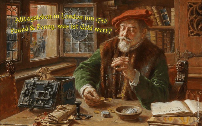 Der Geldverleiher bei der Arbeit