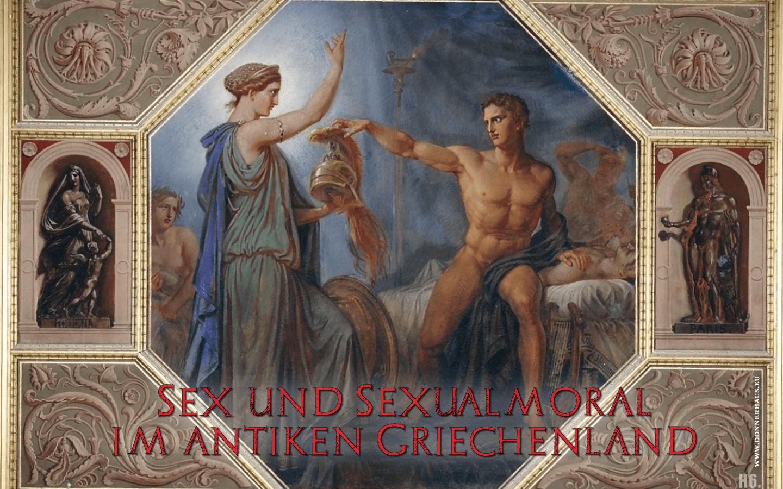 Thetis überreicht Achilleus seine neue Rüstung, damit er Rache für seinen toten Liebhaber Patroklos nehmen kann.