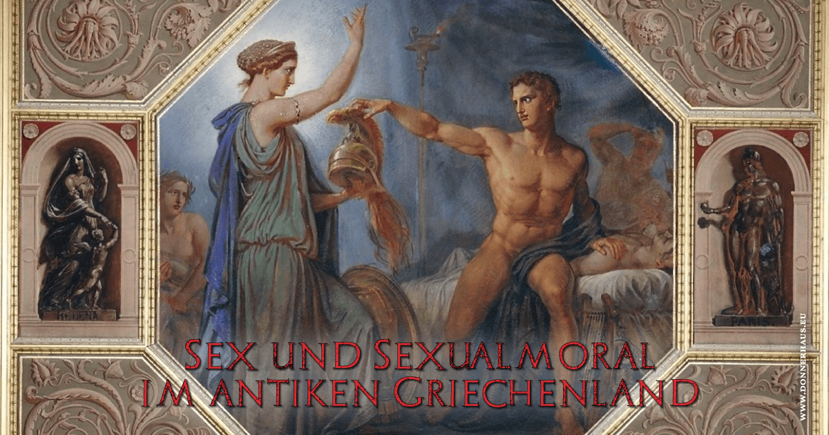 Nackte sexy griechische Frau