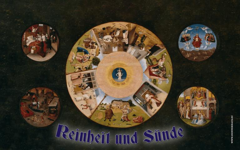 """Titelbild """"Sünde und Reinheit"""", Bild von Hieronymus Bosch """"die sieben Todsünden"""""""