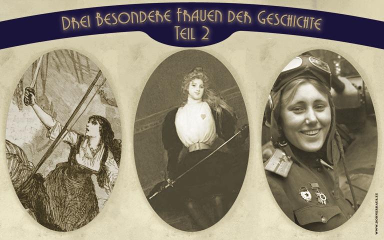 Marie-Anne Dieu-le-Veut, Julie d'Aubigny und Mariya Oktyabrskaya – drei besondere Frauen der Geschichte als spannende Charakterinspiration für deine Story oder Rollenspielcharaktere.