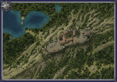 Die Burgruine auf dem Felsgrat Thumbnail