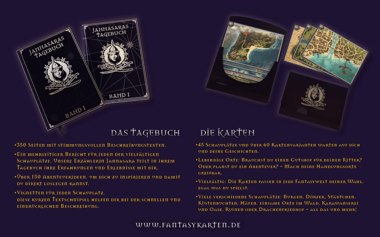 Jannasaras Kartentasche, jetzt im Crowdfunding auf GameOnTabletop.com