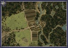Befestigter Weiler Smallmap