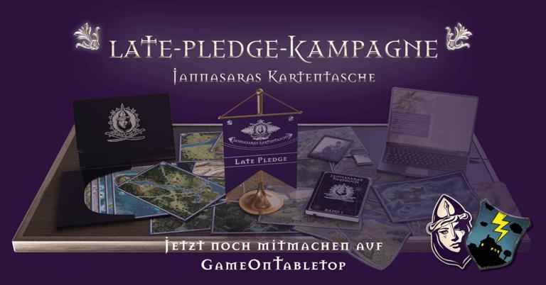 Jannasaras Kartentasche jetzt im Late-Pledge auf https://donner.haus/gameoncf