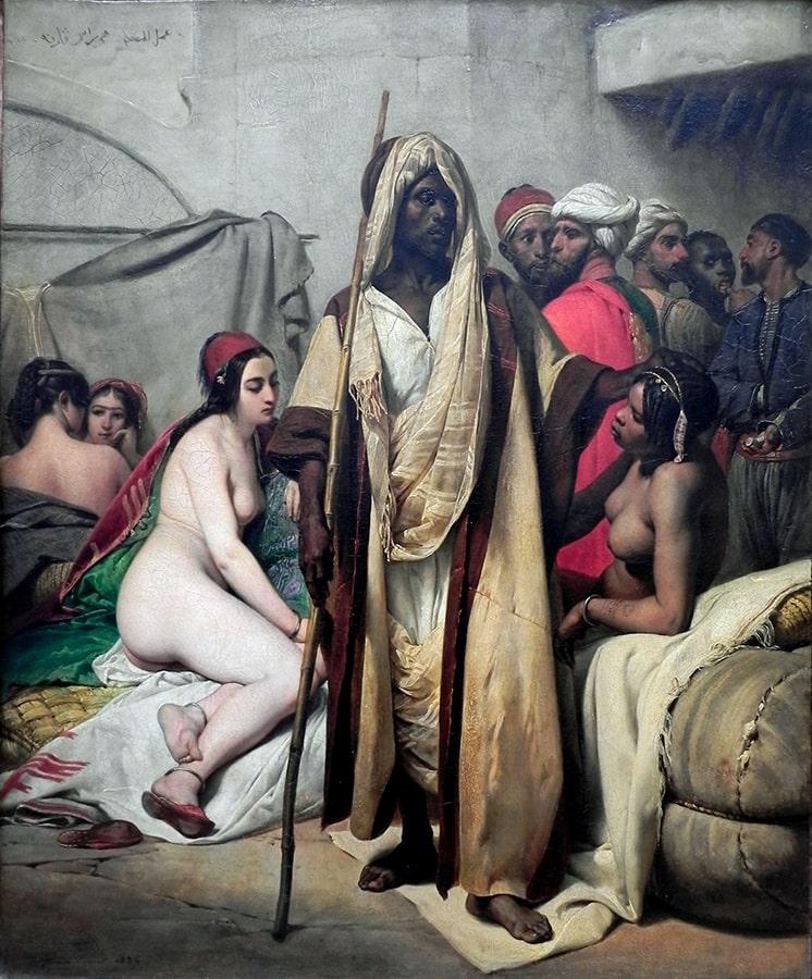 Sklaven kastriert Sklavenhandel in