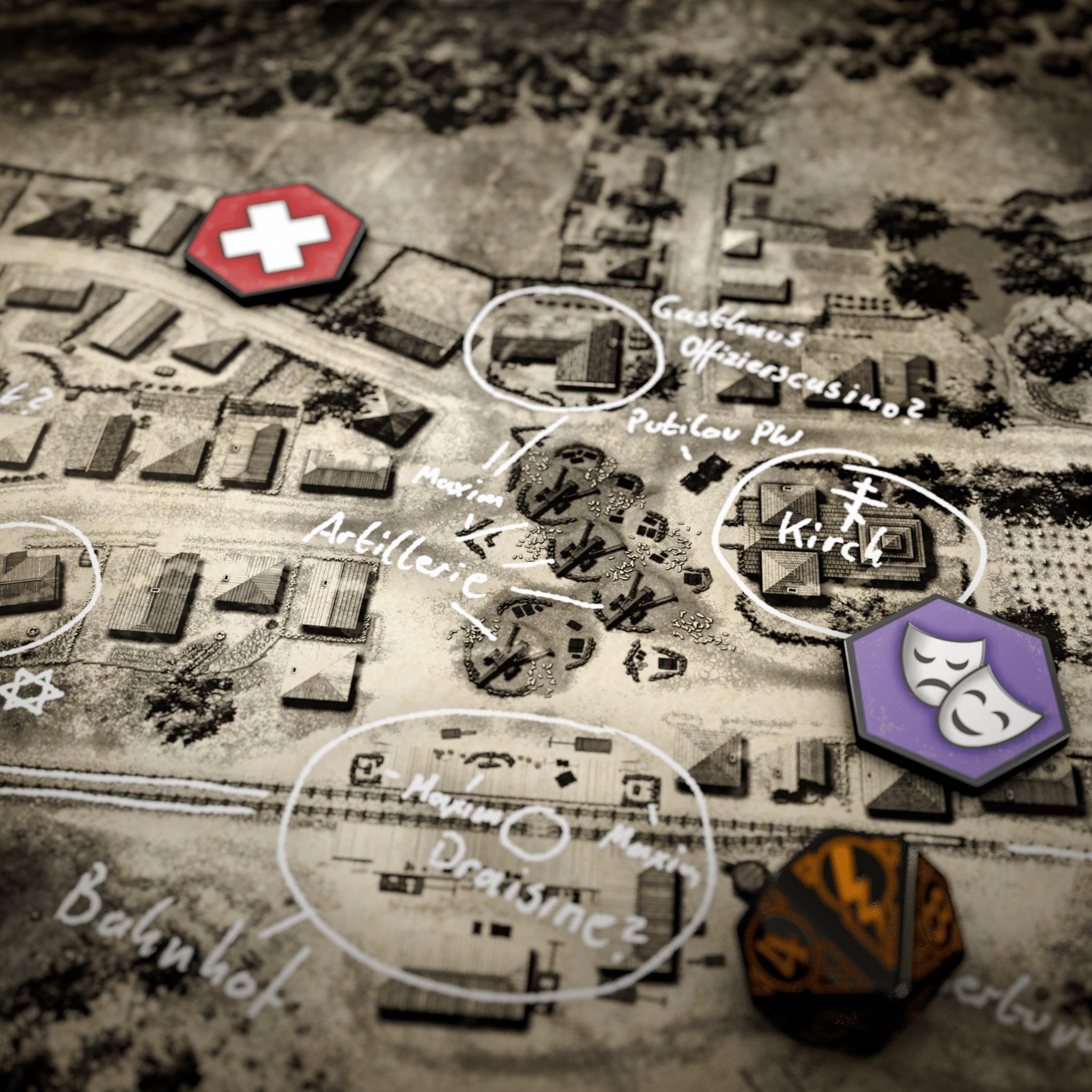 Detailansicht Landkarten